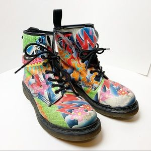 Dr. Martens Printed Boots